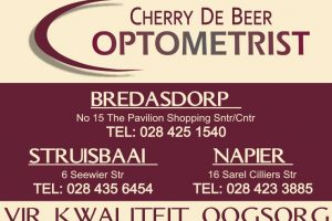 Cherry de Beer Optometrist Struisbaai